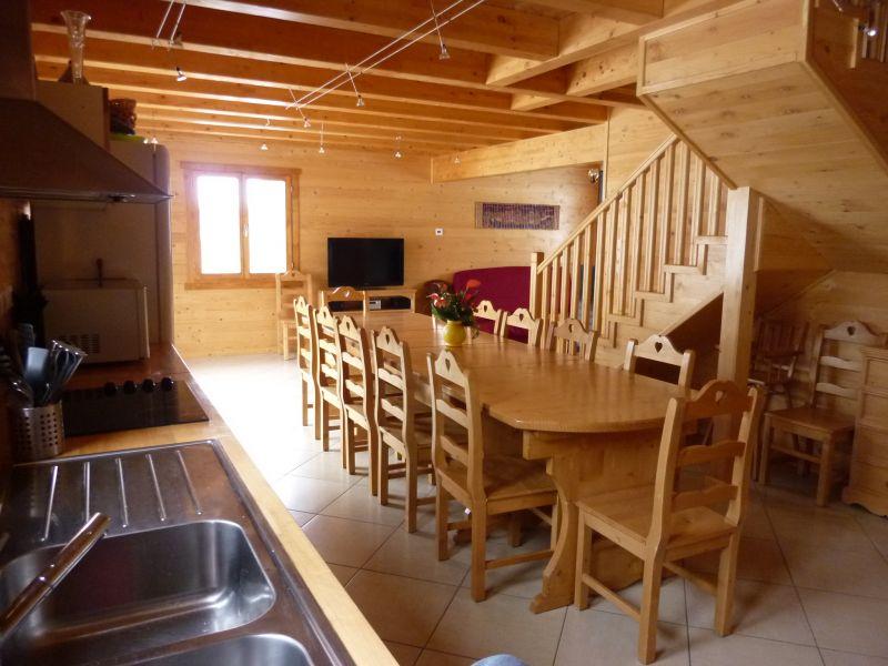 Sala da pranzo 2 Affitto Chalet 65856 Les Orres