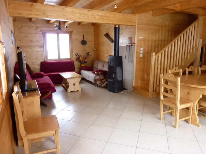 Salotto 1 Affitto Chalet 65856 Les Orres