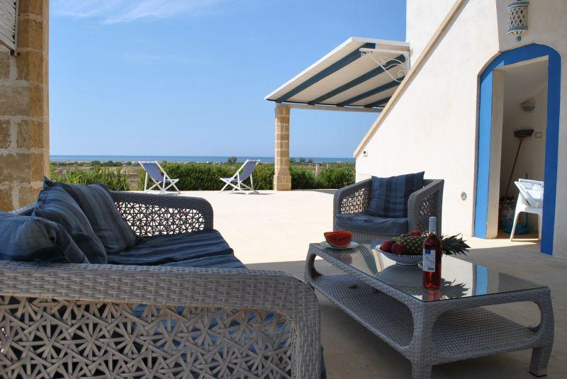 Vista esterna della casa vacanze Affitto Casa 73207 Pescoluse
