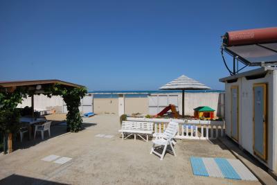 Vista esterna della casa vacanze Affitto Monolocale 75599 Termoli