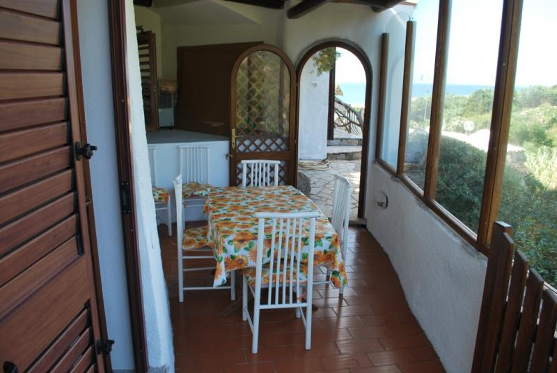 Vista dal terrazzo Affitto Appartamento 77026 Santa Teresa di Gallura