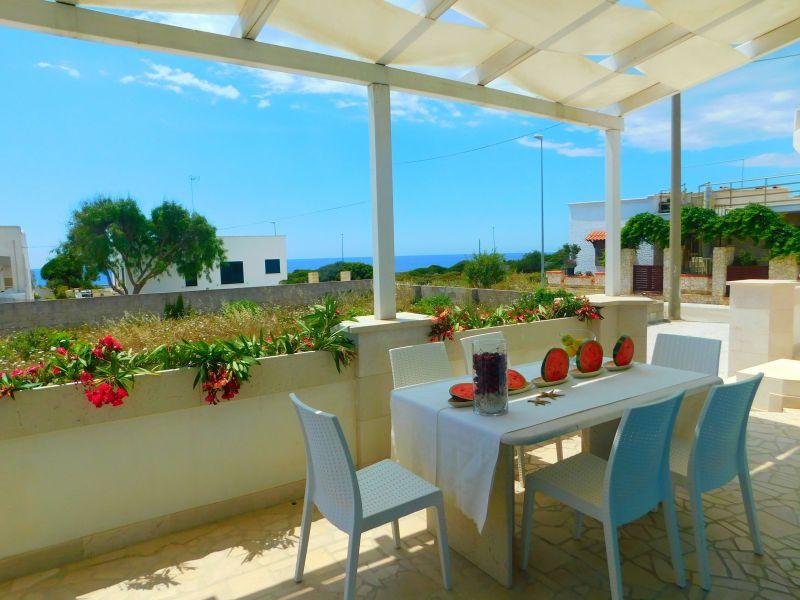Vista dalla casa vacanze Affitto Villa  79989 Ugento - Torre San Giovanni