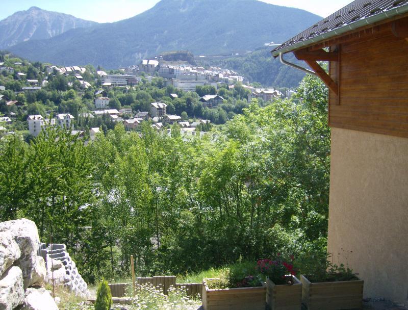 Vista dal terrazzo Affitto Appartamento 81119 Briançon