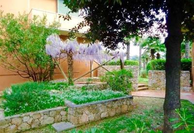 Vista dal terrazzo Affitto Appartamento 94889 Porto Azzurro