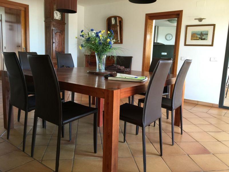 Sala da pranzo Affitto Villa  96439 Rosas