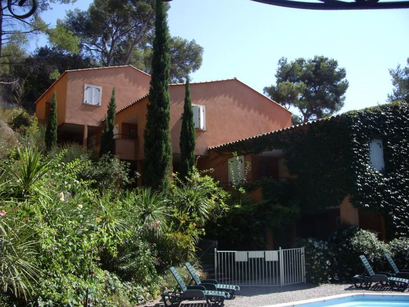 Vista dalla casa vacanze Affitto Appartamento 8604 Bandol