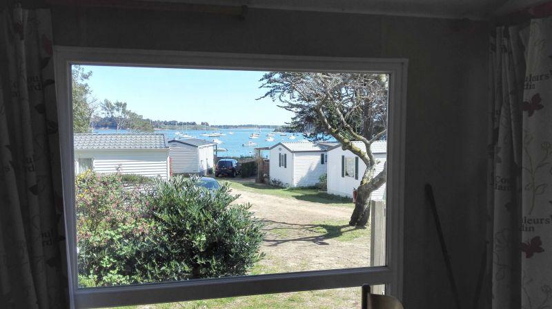 Vista dalla casa vacanze Affitto Casa mobile 105092 Arzon
