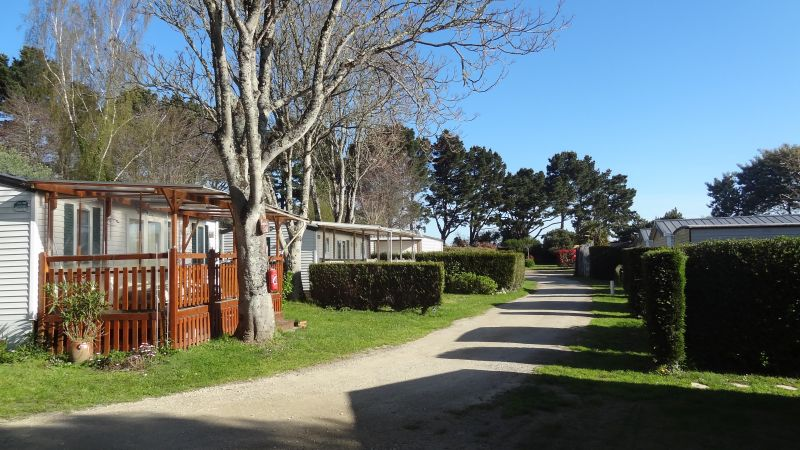 Vista esterna della casa vacanze Affitto Casa mobile 105092 Arzon