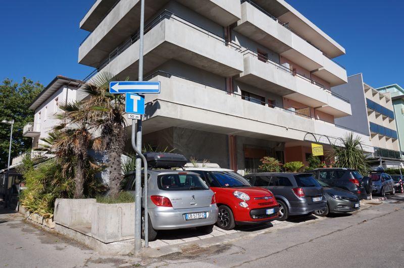 Vista esterna della casa vacanze Affitto Appartamento 107982 Bellaria Igea Marina
