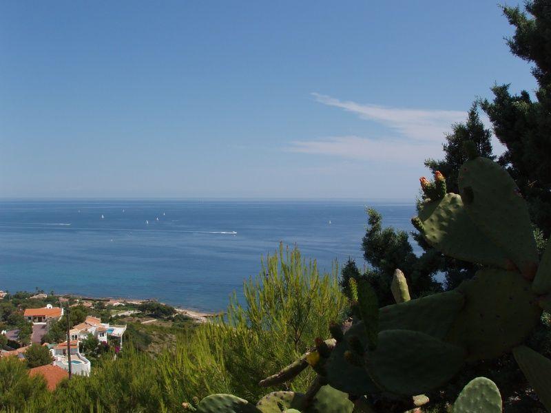 Vista dalla casa vacanze Affitto Villa  110321 Dénia