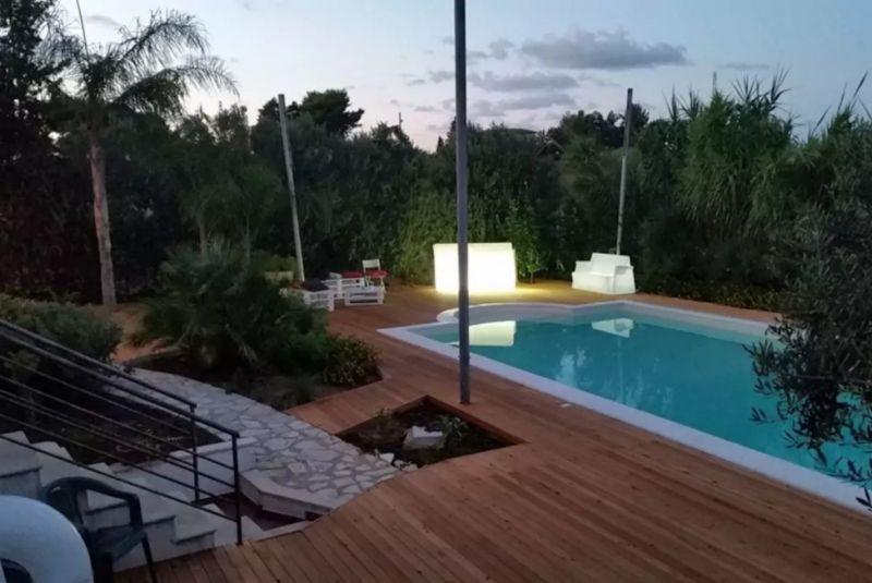 Vista dal balcone Affitto Villa  111636 Castellammare del Golfo