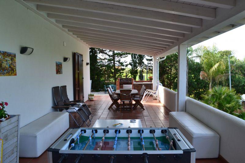 Veranda Affitto Villa  111636 Castellammare del Golfo