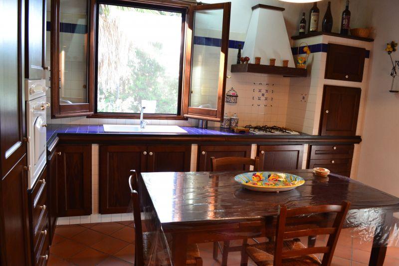 Cucina separata Affitto Villa  111636 Castellammare del Golfo