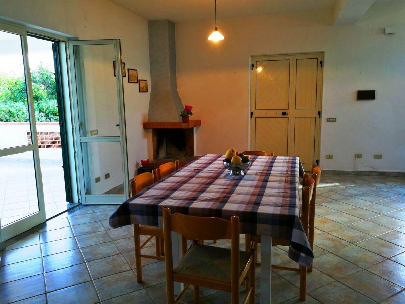 Sala da pranzo Affitto Villa  114175 Capo Vaticano