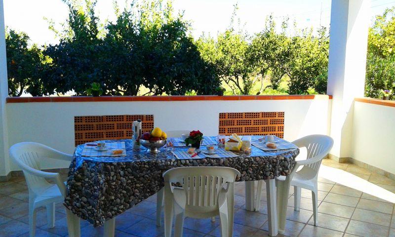 Veranda Affitto Villa  114175 Capo Vaticano