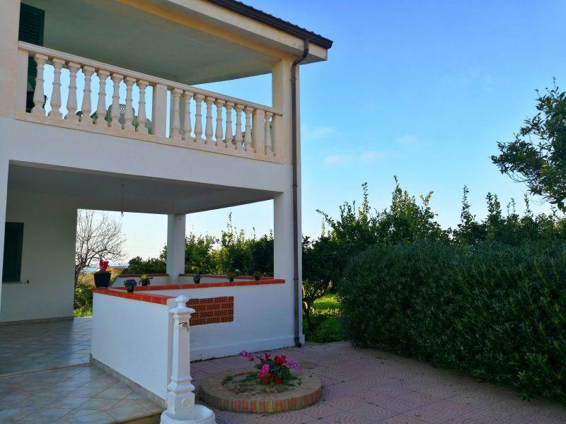 Giardino Affitto Villa  114175 Capo Vaticano