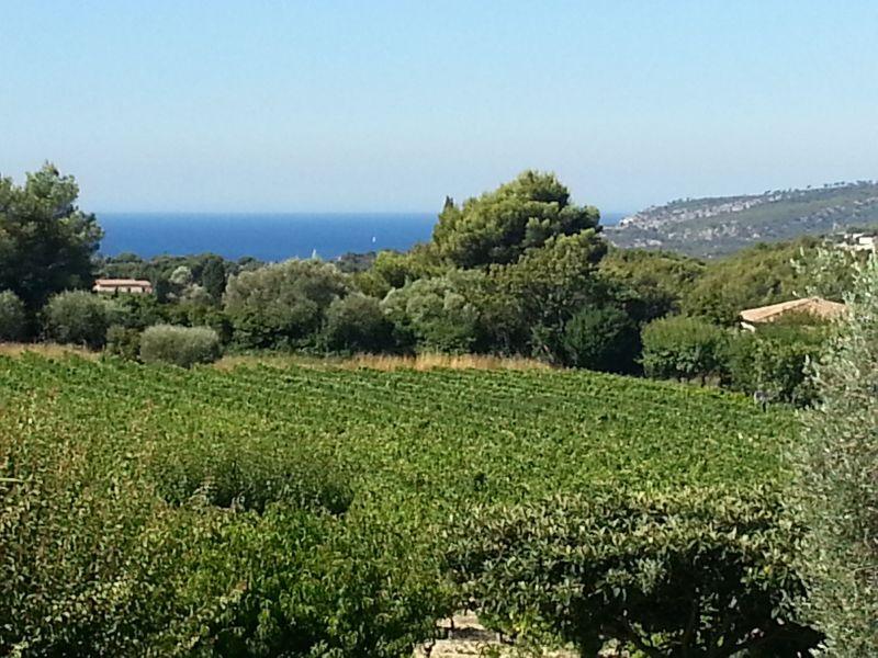 Vista dalla casa vacanze Affitto Villa  118908 Cassis