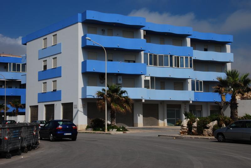 Vista esterna della casa vacanze Affitto Appartamento 68809 Trapani