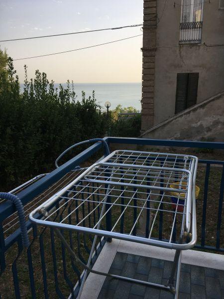 Vista dal balcone Affitto Appartamento 69058 San Vito Chietino