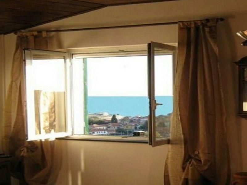 Vista dalla casa vacanze Affitto Appartamento 83514 Santo Stefano al Mare