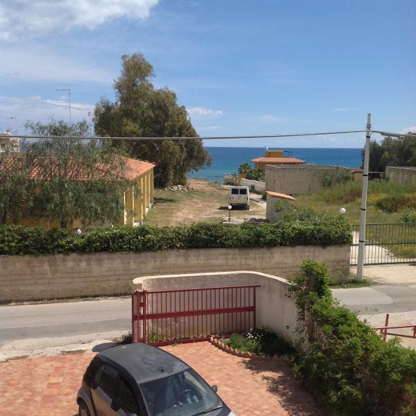 Vista dal balcone Affitto Villa  86008 Marzamemi
