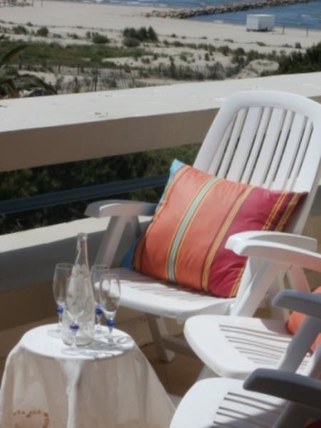 Vista dal terrazzo Affitto Appartamento 86917 Le Grau du Roi