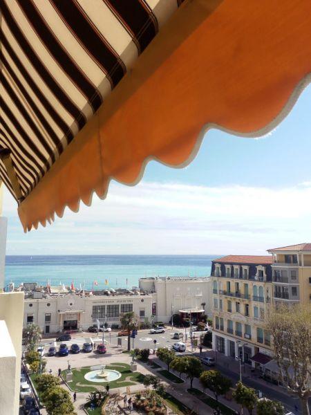 Vista dal terrazzo Affitto Appartamento 91364 Menton (Mentone)