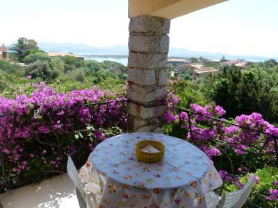 Vista dal terrazzo Affitto Villa  98901 La Maddalena