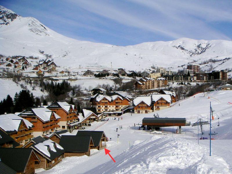 Vista esterna della casa vacanze Affitto Chalet 107261 Saint François Longchamp
