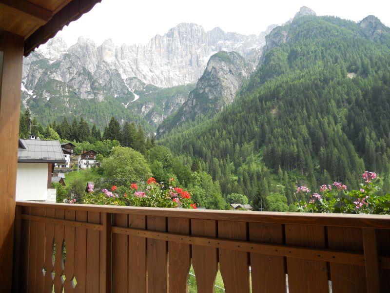 Vista dal balcone Affitto Appartamento 108246 Alleghe
