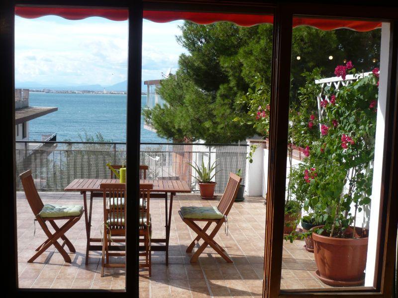 Vista dalla casa vacanze Affitto Appartamento 108266 Rosas