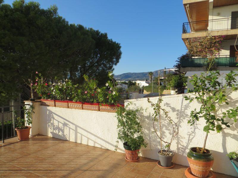 Vista dal terrazzo Affitto Appartamento 108266 Rosas