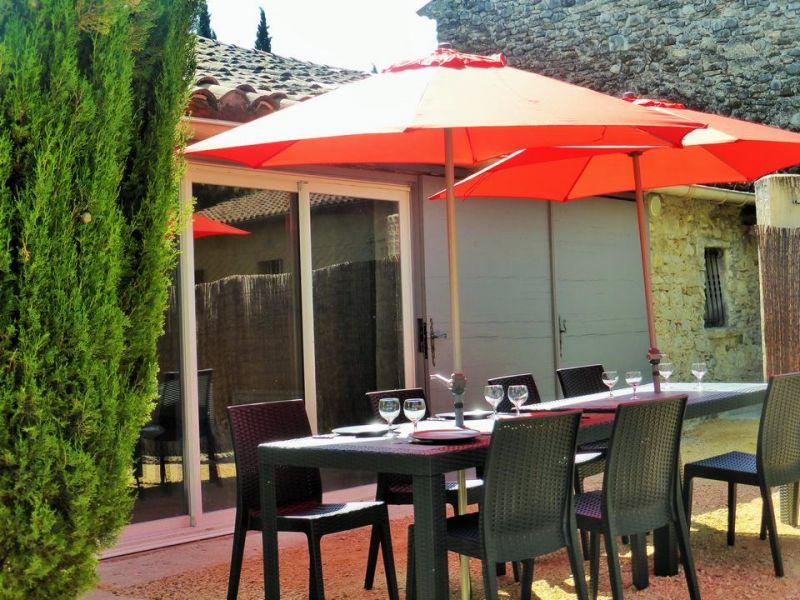 Vista dal terrazzo Affitto Casa 110810 Vaison la Romaine