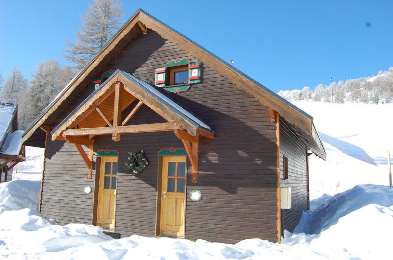 Vista esterna della casa vacanze Affitto Chalet 111824 Risoul 1850