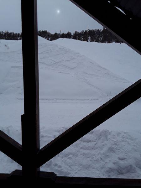 Vista dalla casa vacanze Affitto Chalet 111824 Risoul 1850
