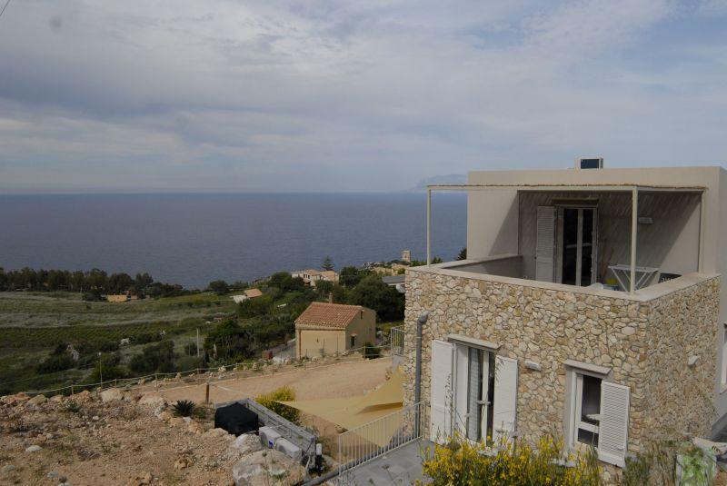Vista dal terrazzo Affitto Appartamento 112787 Scopello