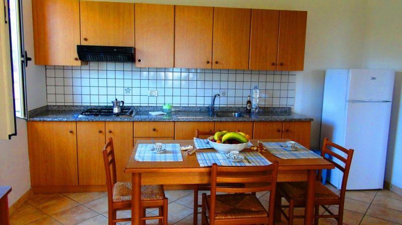 Cucina all'americana Affitto Villa  113093 Capo Vaticano