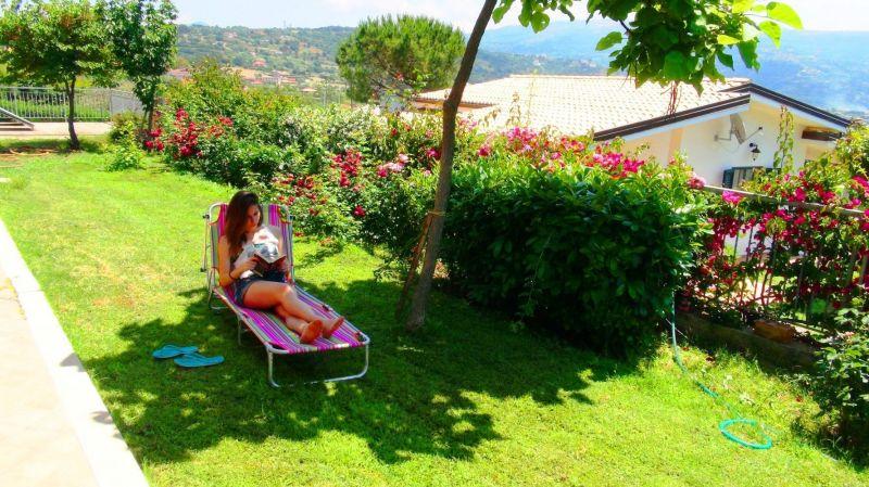 Giardino Affitto Villa  113093 Capo Vaticano