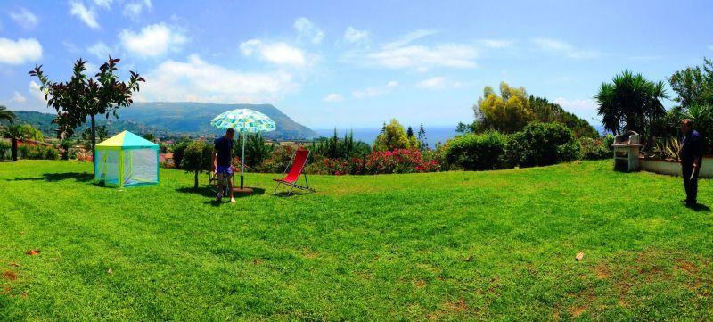 Vista dalla casa vacanze Affitto Villa  113093 Capo Vaticano