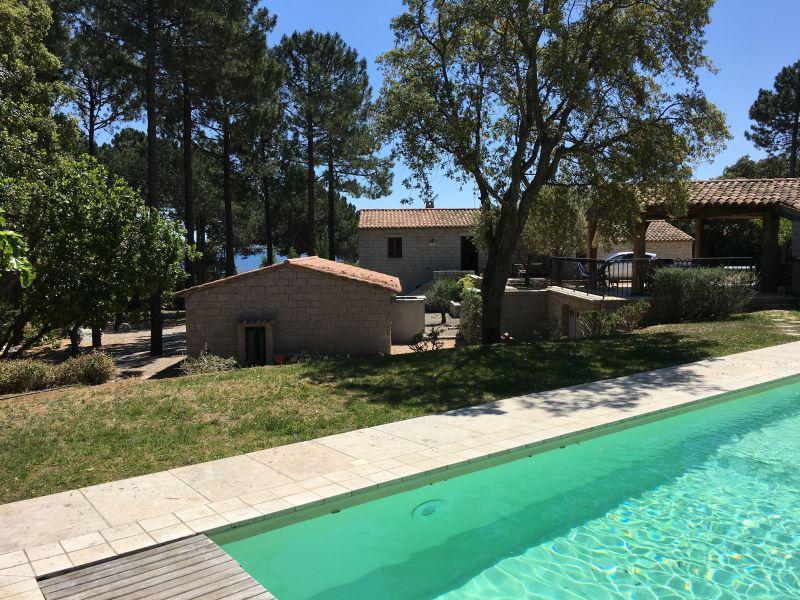 Vista esterna della casa vacanze Affitto Casa 114349 Sainte Lucie de Porto Vecchio