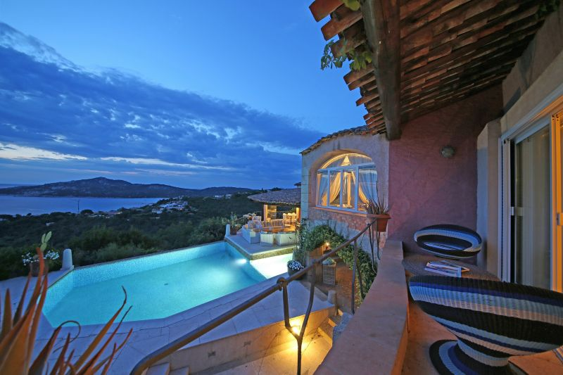 Vista dalla casa vacanze Affitto B&B insolito 115523 Porto Cervo