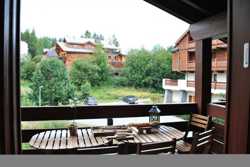 Vista dal terrazzo Affitto Appartamento 116778 Les 2 Alpes