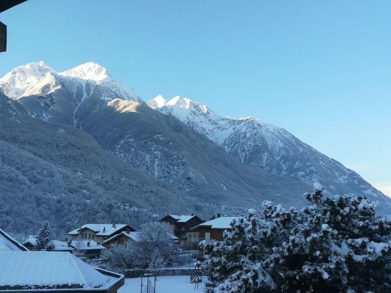 Vista dal balcone Affitto Appartamento 117222 Aosta