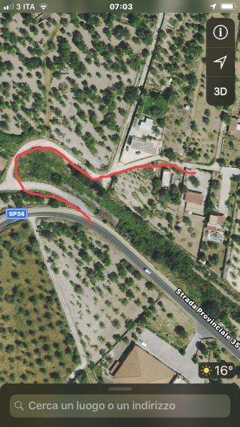 Mappa Affitto Villa  117251 Noto