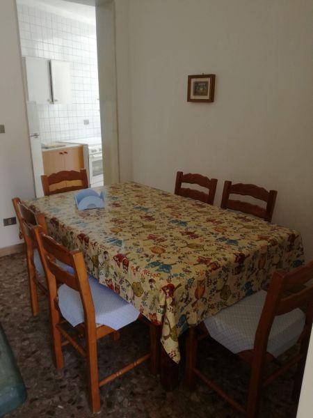 Sala da pranzo Affitto Appartamento 117731 San Foca