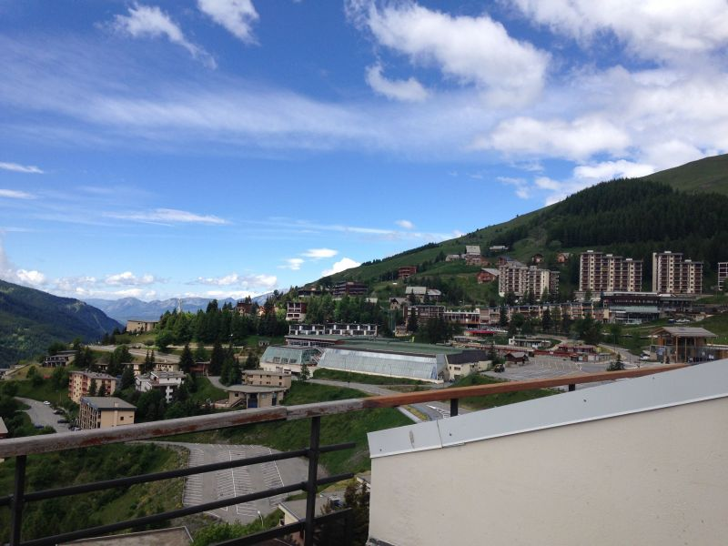 Vista dal terrazzo Affitto Appartamento 117953 Orcières Merlette