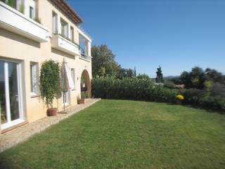 Vista dal terrazzo Affitto Appartamento 68957 Lorgues