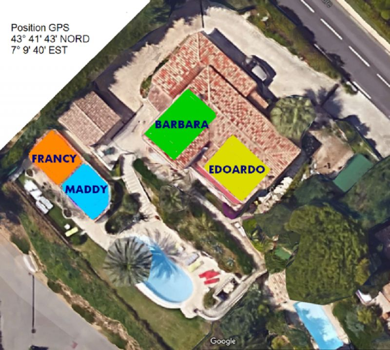 Pianta casa vacanze Affitto Appartamento 73307 Nizza