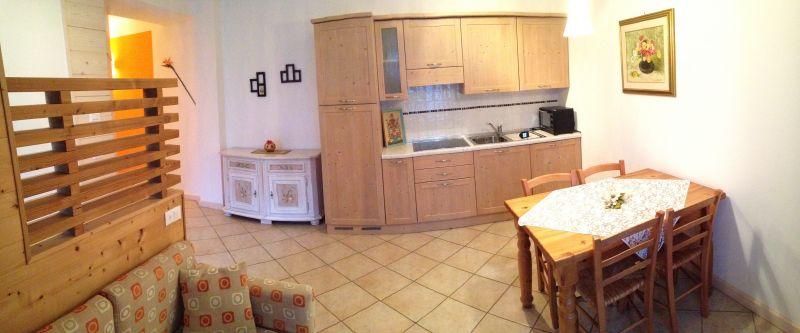 Cucina all'americana Affitto Appartamento 80005 Santo Stefano di Cadore