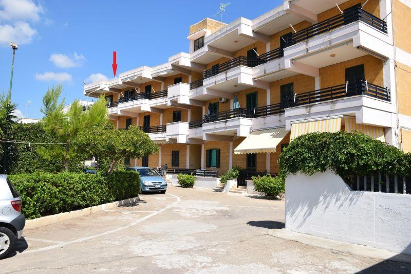 Vista esterna della casa vacanze Affitto Appartamento 97328 Porto Cesareo